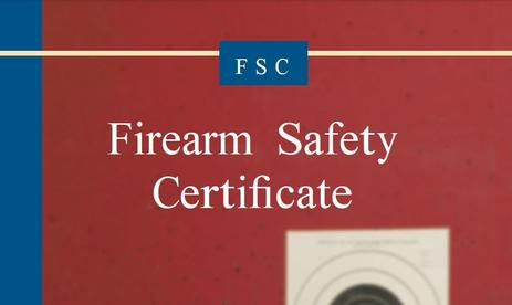 California Firearm Safety Certificate (FSC)