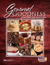gourmet goodness food fundraising brochure