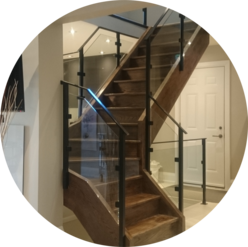 Modern Glass Railings