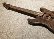 "HardWay ""Cuper"" Walnut and Copper Guitar"