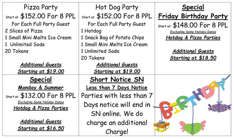 Palm Island indoor Waterpark - Birthday Parties, Kids Birthday Party ...