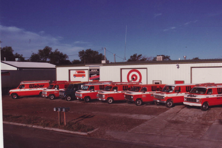 Weber Refrigeration, Heating and Air Conditioning Garden City, Ks 2nd location from 1981 to 1990