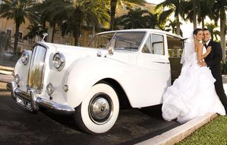 Limo Service for Wedding A Class Limos