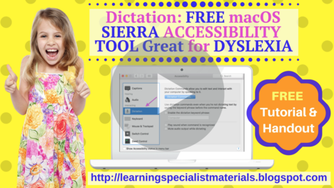 Dictation Accessibility Tool