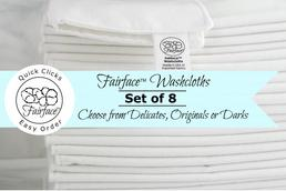 Softest washcloths for your face - Fairface set of 8