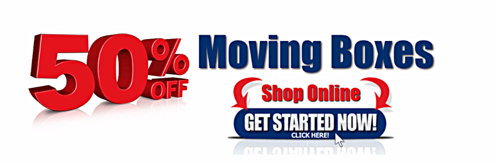 50% off Moving Boxes Shop online