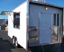 20' Mobile Kitchen Trailer Rental