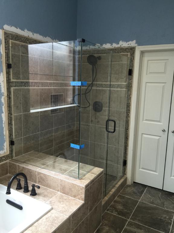 Osteen Glass And Mirror Shower Enclosure Shower Repair