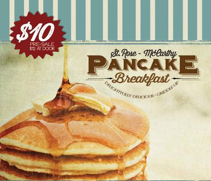 St. Rose-McCarthy Pancake Breakfast