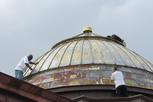 painting church dome