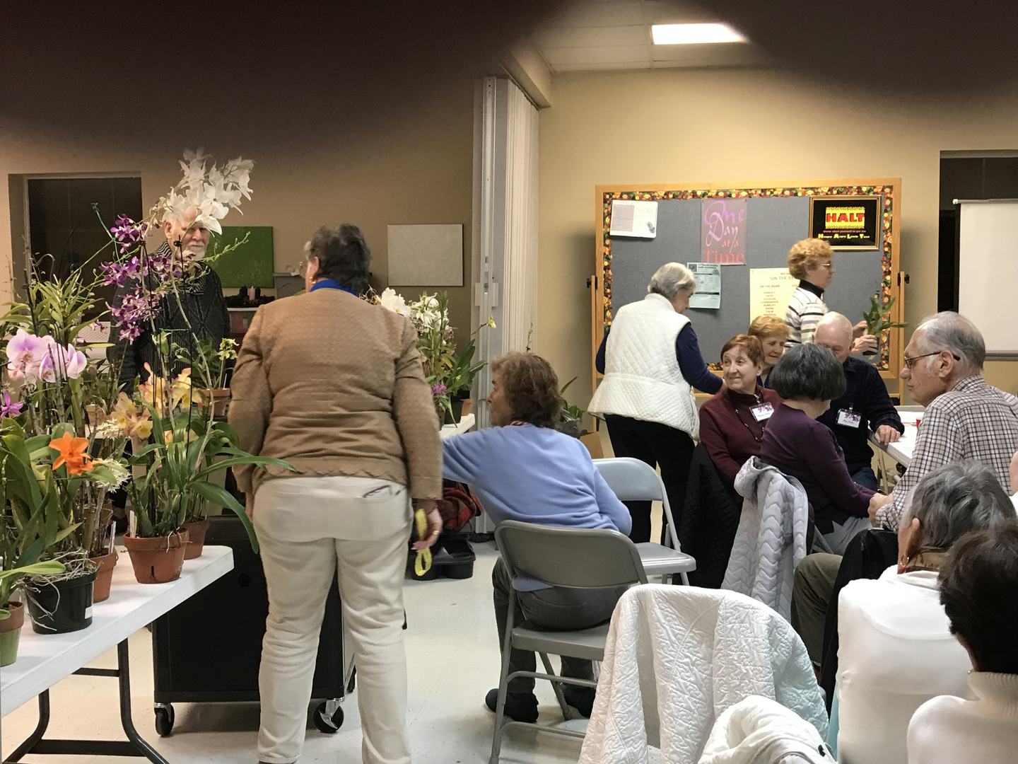 Sandhills Orchid Society - meeting, orchid, meeting minutes