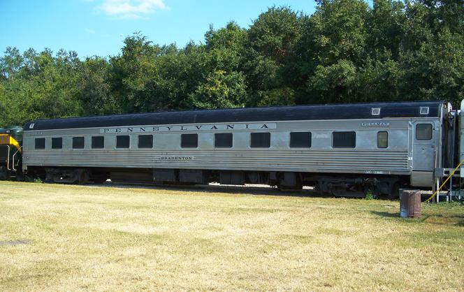 "Pennsylvania Railroad Pullman ""Bradenton"", October 2010."