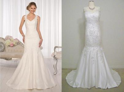 This replica Essence of Australia® gown is full of surprises  from the  extravagant amount of beading to the low 66ab4c4d6