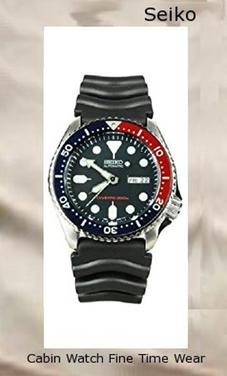 Seiko Men's SKX009K2 Diver's Analog Automatic Stainless Steel Watch​