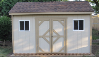 8X14 GABLE STORAGE SHED