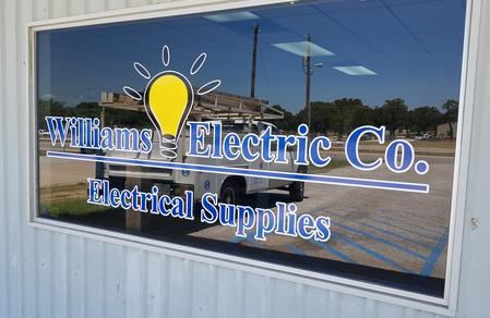 Williams Electrical Company: Electrical Supplies