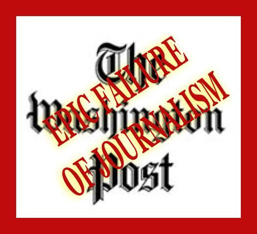 The Washington Post falls for the anti-Israel narrative.