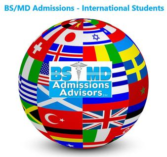 BS/MD Admissions for International Students