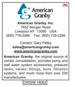 American Granby, Water Well Accessories
