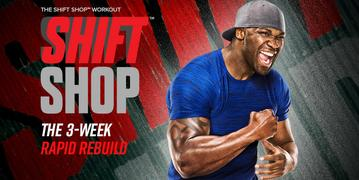 The Shift Shop Workout Review, Shift Shop Workout, Shift Shop Workout Review, The Shift Shop Workout, One Fit Fighter Fitness, Katy Ursta, Beachbody