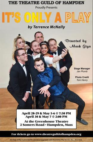 Theatre Guild of Hampden Presents It's Only A Play