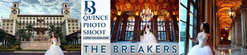 THE BREAKERS HOTEL QUINCEANERA PARTY PALM BEACH QUINCEANERA QUINCE 15 ANOS PHOTOGRAPHY VIDEO DRESSES PHOTO SHOOT PARTIES WEST PALM BEACH FLORIDA USA