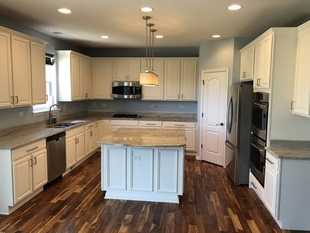 Kitchen Cabinet Refinishing and Painting, Elgin