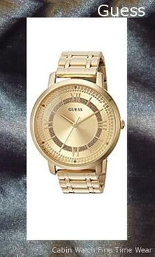 ​​GUESS Women's Quartz Stainless Steel Casual Watch, Color:Gold-Toned (Model: U0933L2),guess outlet