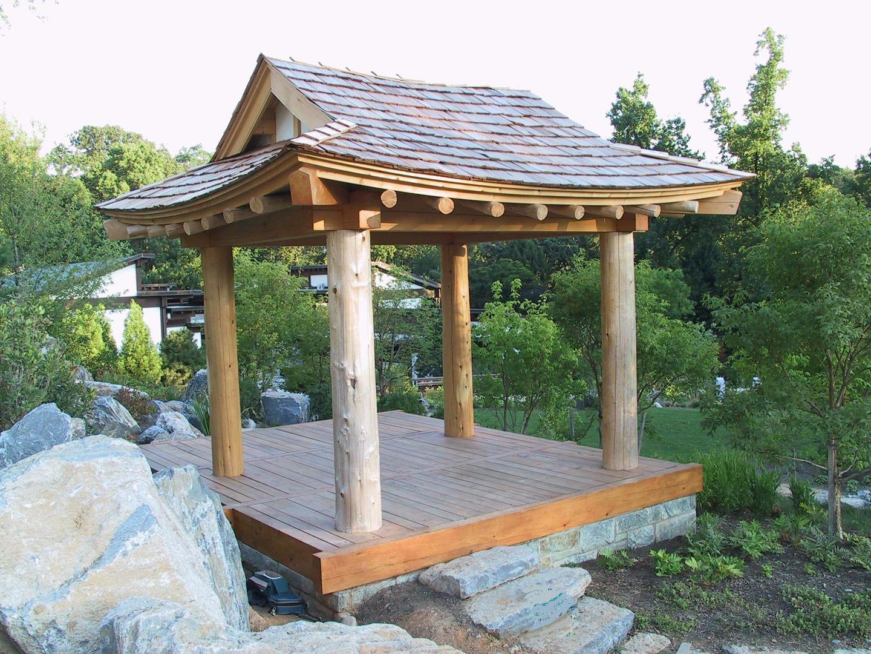 Korean style pavilion