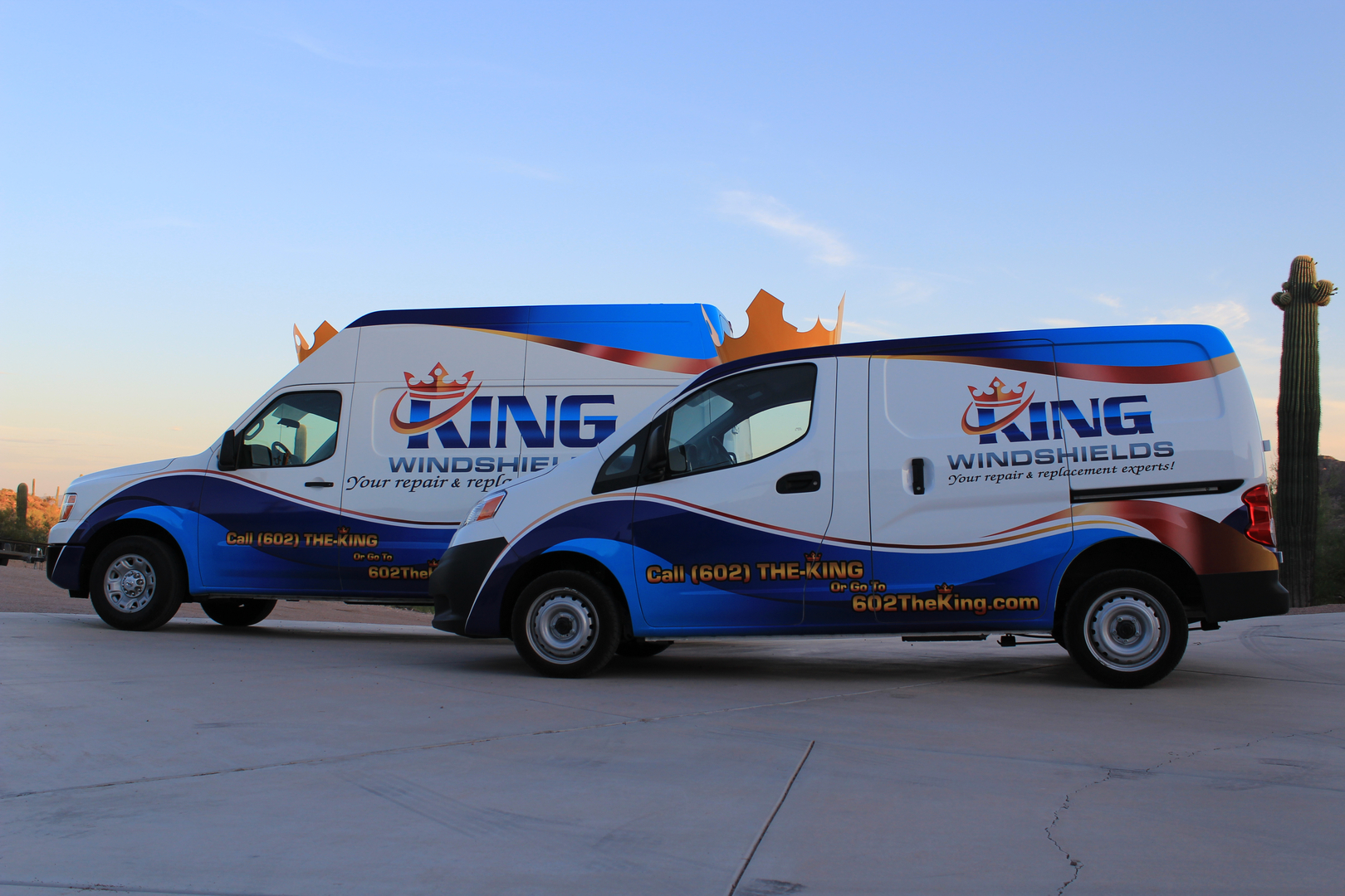 our recognizable signature series vans - Auto Glass Repair Tulsa Ok