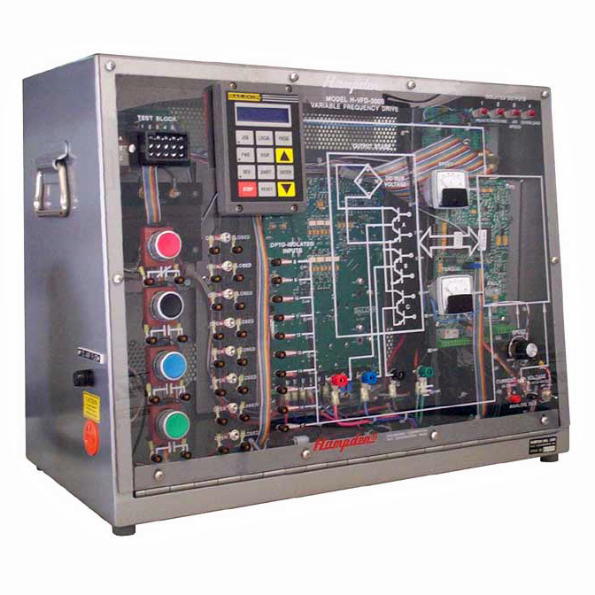 H-VFD-300B Variable Frequency Drive Trainer, 3 HP