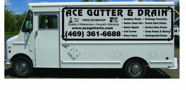 Free estimates rain gutters and french drain installation