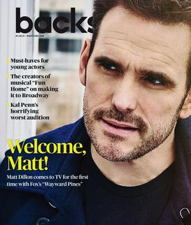 MATT DILLON FOR BACKSTAGE MAGAZINE