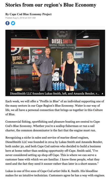 Diesel Smith - Boat Repair, Cape Cod