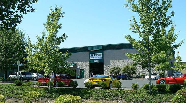 JC Motors auto repair and service store front image