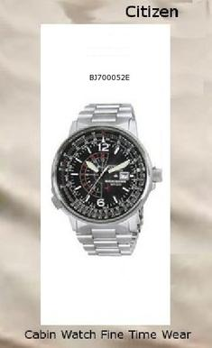 Watch Information Brand, Seller, or Collection Name Citizen Model number BJ7000-52E Part Number BJ7000-52E Model Year 2008 Item Shape Round Dial window material type Mineral Display Type Analog Clasp Fold-over-push-button-clasp-with-safety Case material Stainless steel Case diameter 42 millimeters Case Thickness 13 millimeters Band Material Silver tone Band length Mens Band width 18 millimeters Band Color Silver Dial color Black Bezel material Stainless Steel Bezel function Stationary Calendar Date Special features dual-time-display;luminous;water-resistant Movement Japanese-Quartz Water resistant depth 660 Feet,citizen watch,citizen watch