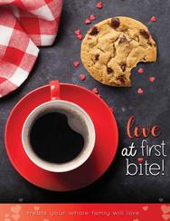 Love at First Bite Fundraiser Brochure
