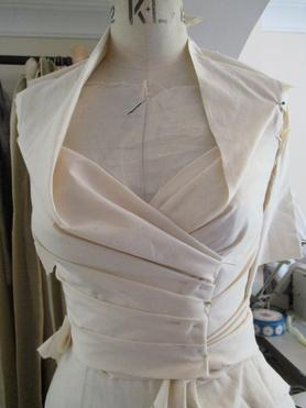 Courses in draping and toile fitting
