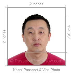 Nepal Passport and Visa Photos Printed and Guaranteed