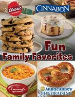 Fun Family Favorites Fundraiser Brochure