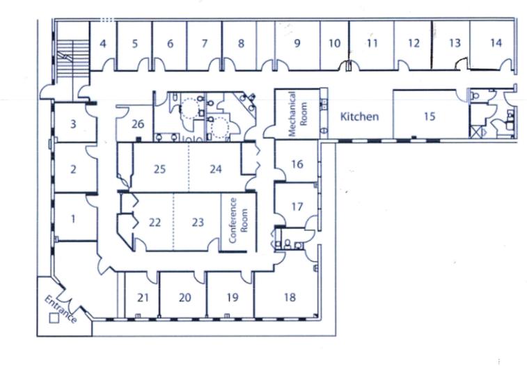 Orlando Office Suites Floorplan