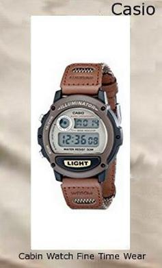 Product specifications Watch Information Brand, Seller, or Collection Name Casio Model number W89HB-5AV Part Number W89HB-5AV Item Shape Round Dial window material type Mineral Display Type Digital Clasp Buckle Case material Stainless Steel Case diameter 44 millimeters Case Thickness 12 millimeters Band Material Nylon Band length Mens Band width 21 millimeters Band Color Brown Dial color Brown Bezel material Resin Bezel function Stationary Calendar Day and date Special features alarm-feature, Luminous, Water Resistant Item weight 4 Ounces Movement Quartz Water resistant depth 165 Feet,casio oceanus