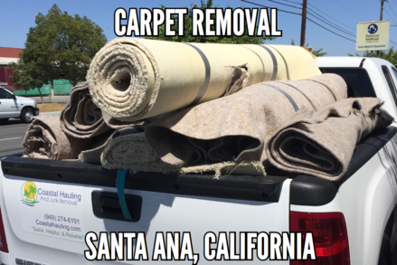 Santa Ana Carpet Removal
