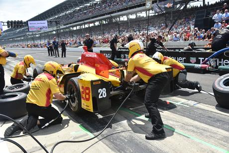 Andretti Pit Stop Competition Paoli Wheel Guns