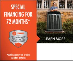 Current heating and cooling finance options