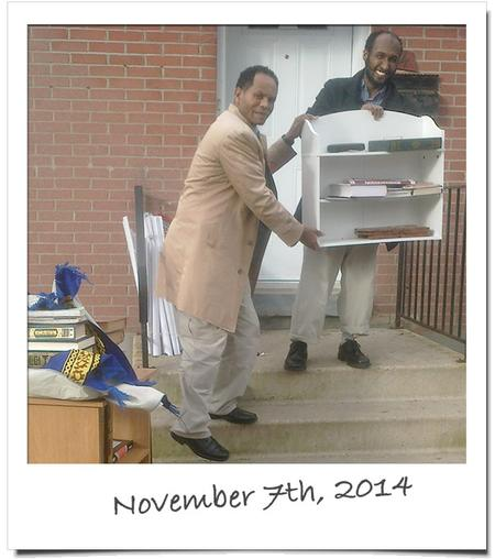 November 2014 - Time to find a new pace of worship - Moving out