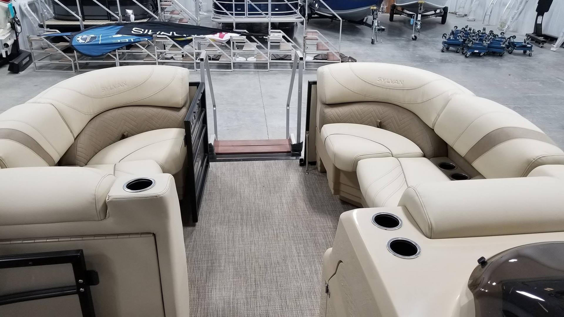 Sylvan pontoon 8522 DLZ yamaha 115 SHO | Buckeye Lake tri