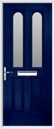 2 Panel 2 Arch Composite Door obscure glass