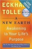 "Cover of ""A New Earth, Awakening to Your Life's Prupose"" book by Eckhart Tolle"