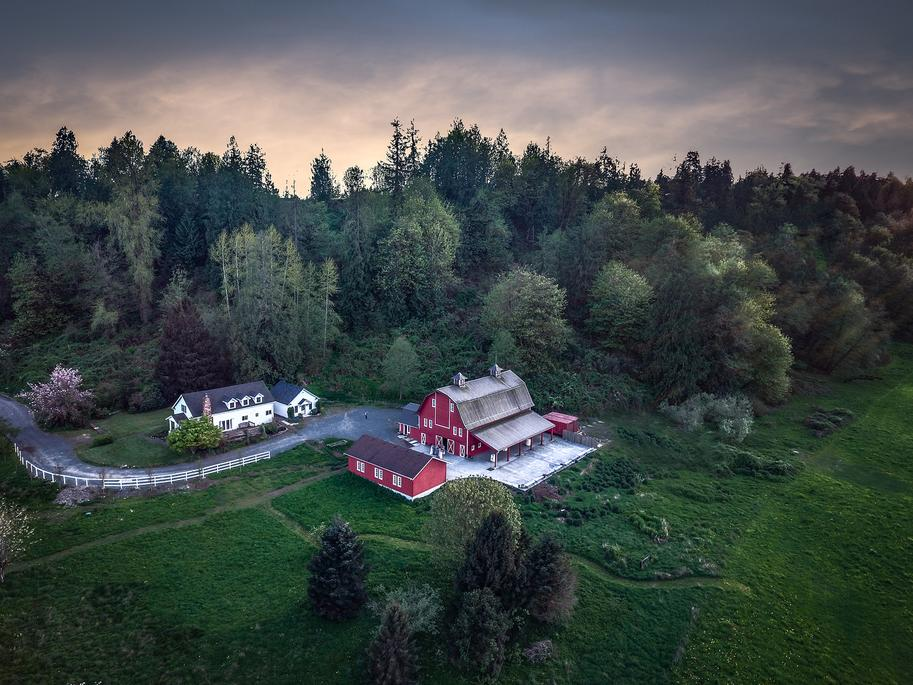 An image of our farm wedding venues in Snohomish County, WA